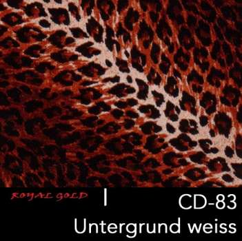 royal wtd hydrographics wassertransferdruck verspiegelungstechnik tier design cd 83. Black Bedroom Furniture Sets. Home Design Ideas