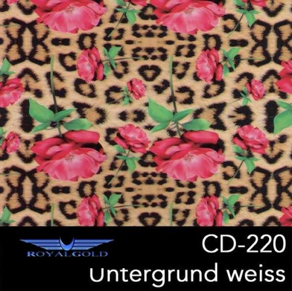 royal wtd hydrographics wassertransferdruck verspiegelungstechnik blumen muster cd 220. Black Bedroom Furniture Sets. Home Design Ideas